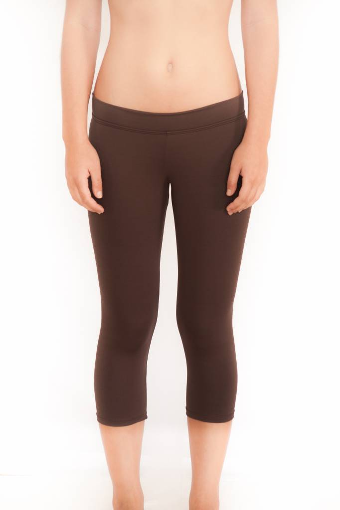 Pualani Surf Capri Chocolate Solid