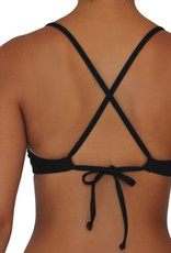 Pualani Sport Tie Black Solid