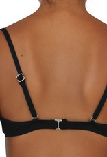 Pualani Bra Top Black Solid