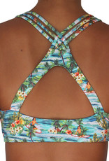 Pualani High Neck Halter Surfer Girl