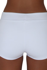 Pualani Hot Pant White Solid