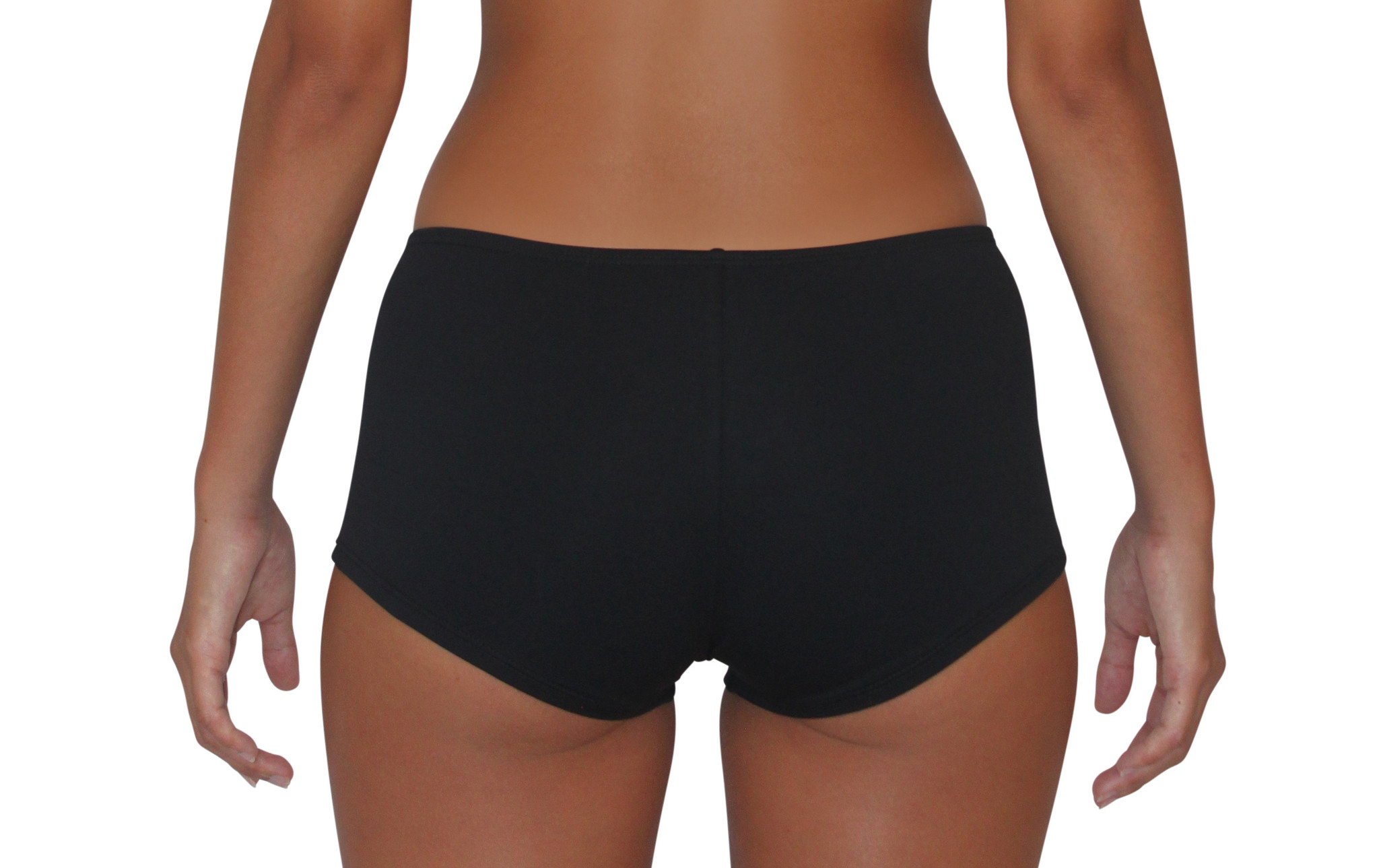 Pualani Hipster Black Solid