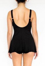 Pualani Tank Dress One Piece Black Solid