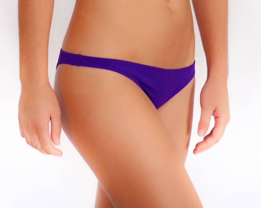 Pualani Skimpy Scrunch Rio Purple Solid