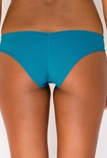 Pualani Scrunch Bootie Teal Solid