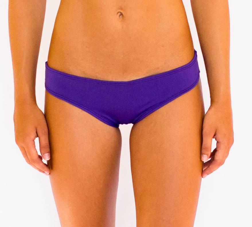 Pualani Scrunch Bootie Purple Solid