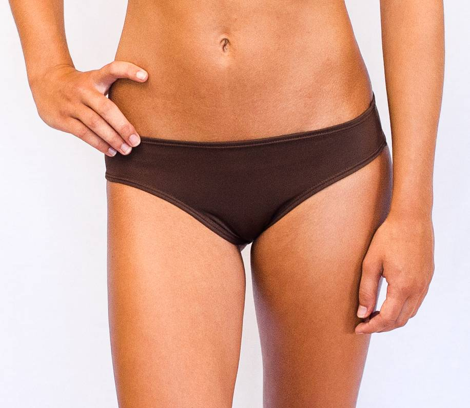 Pualani Scrunch Bootie Chocolate Solid