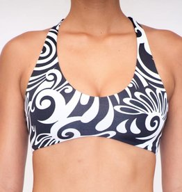 Pualani Reversible Fitness Surf Top Moorea