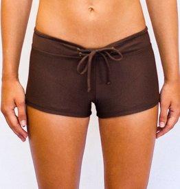 Pualani Hot Pant Chocolate Solid