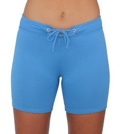 Long Hot Pant Slate Solid