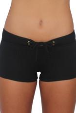 Pualani Hot Pant Black Solid