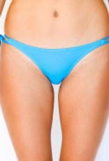 Pualani Skimpy Double Tie Electric Blue Solid