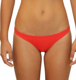 Pualani Skimpy Scrunch Rio Orange Solid