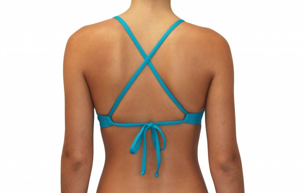 Pualani Sport Tie Teal Solid