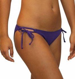 Pualani Double Tie Side Purple Solid