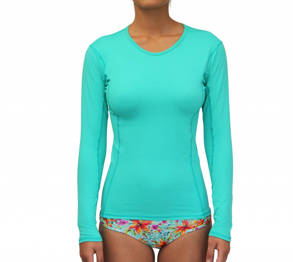 Rashguard Sea Green Solid
