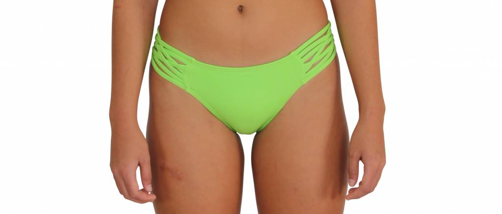 Pualani Scoop w/ Side Strings Lime Green