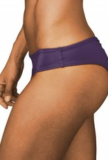 Pualani Scrunch Bootie Bottom Eggplant Solid