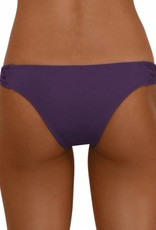 Pualani Skimpy Love with Braided Sides Eggplant Solid