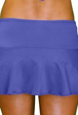 Pualani Skirt w/ Attached Bottom Blue Violet Solid