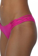Pualani Skimpy Love with Braided Sides Fuschia Solid