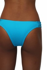 Pualani Skimpy Love with Braided Sides Electric Blue Solid