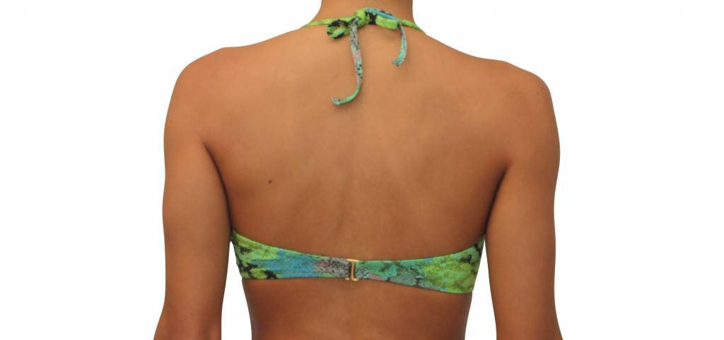 Scrunch Bandeau Top Safari