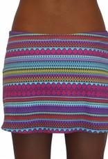 Pualani Short Drawstring Skirt Tango