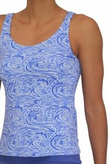 Pualani Scoop Tankini Waves