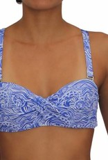 Pualani Soft Cup Bandeau Waves