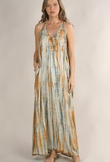 LOVESTITCH COPPER SUN MAXI DRESS