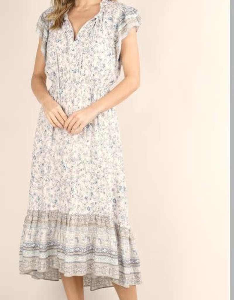 LOVESTITCH MEADOW FLUTTER DRESS