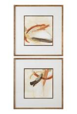 Upstage Framed Prints Set/2 35 x 35