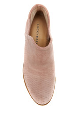 Lucky Brand Baley Suede Bootie Blush