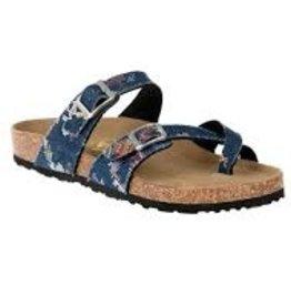 Tofino Sandal Geo Denim