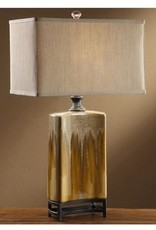 Coaston Caramel Drizzle Table Lamp