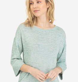 Tribal Dolman Sleeve Sweater Sea Haze