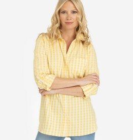 Tribal Roll Up Sleeve Shirt Citron