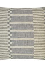 Ranchester Pillow -Graphite 24 x 24