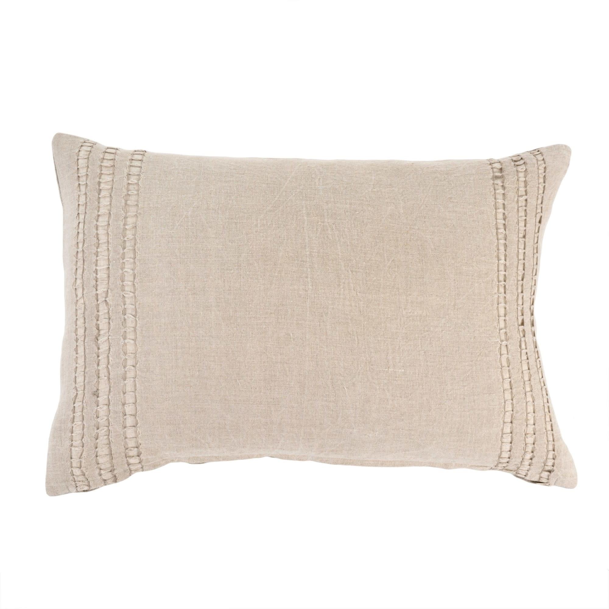 Coventina Cushion - Natural 16 x 24