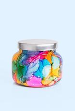 19oz Rainbow Watercolor Jar Volcano