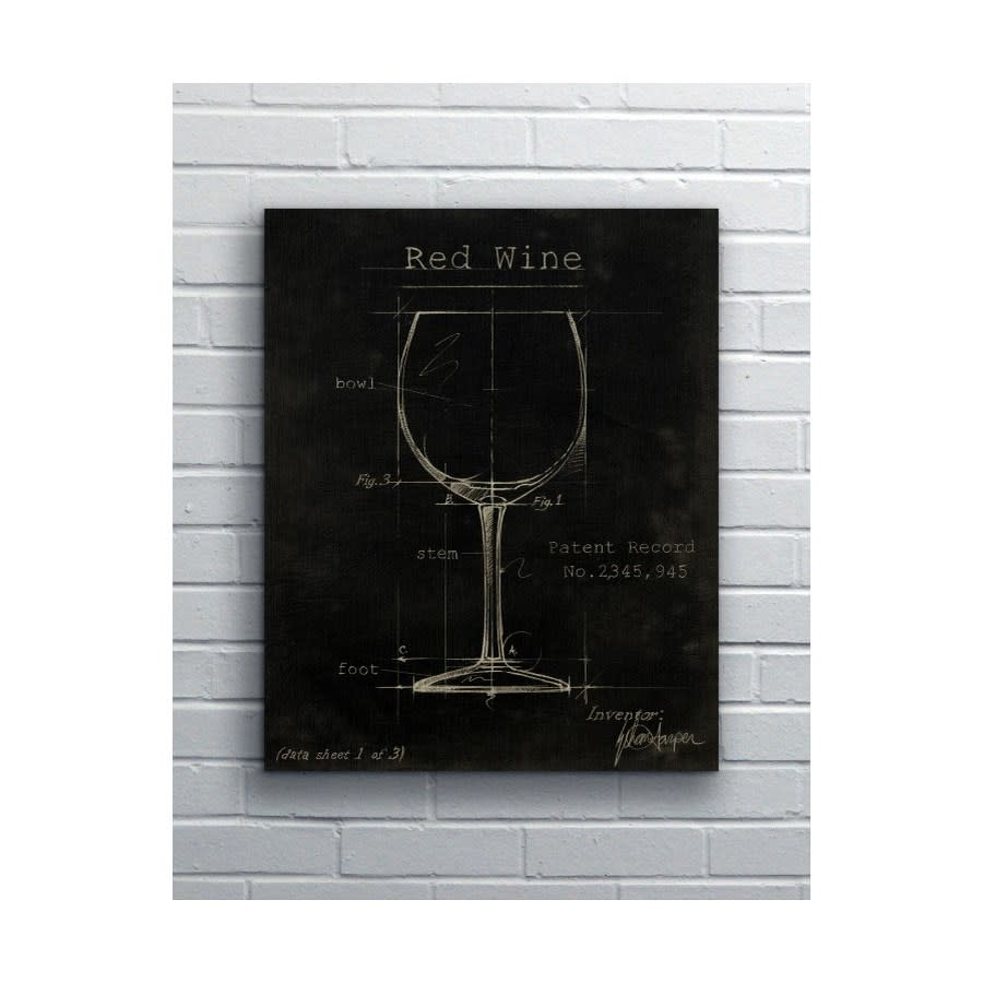"Barware Red Wine 12 x 18"" Kerry"
