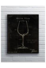 """Barware White Wine 12 x 18"""" Kerry"""