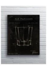 "Barware Old Fashioned 12 x 18"" Kerry"