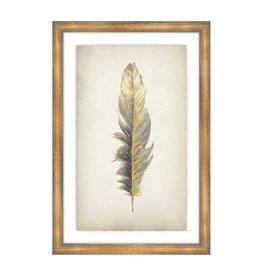"""Gilded Feathers II 25x37"""""""