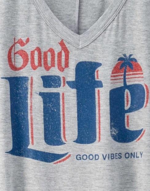 Good Life T-Shirt Grey