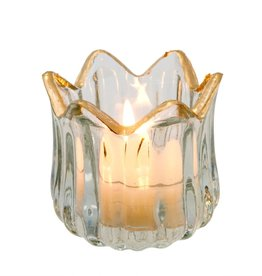 Golden Rim Tealight