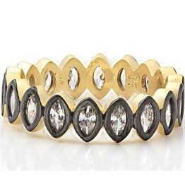 Freida Rothman Marquise Geo Stone Ring