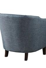 Fremont Barrel Arm Chair Slate Blue