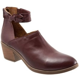 Carly Strap Low Cut Bootie Merlot